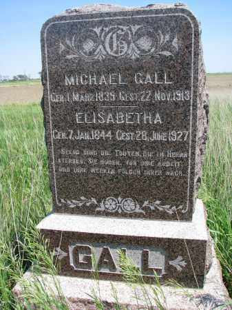 GALL, MICHAEL - Bon Homme County, South Dakota | MICHAEL GALL - South Dakota Gravestone Photos