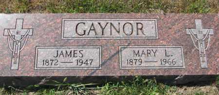 GAYNOR, MARY L. - Bon Homme County, South Dakota   MARY L. GAYNOR - South Dakota Gravestone Photos