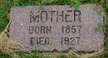 GERJETS, MOTHER - Bon Homme County, South Dakota | MOTHER GERJETS - South Dakota Gravestone Photos