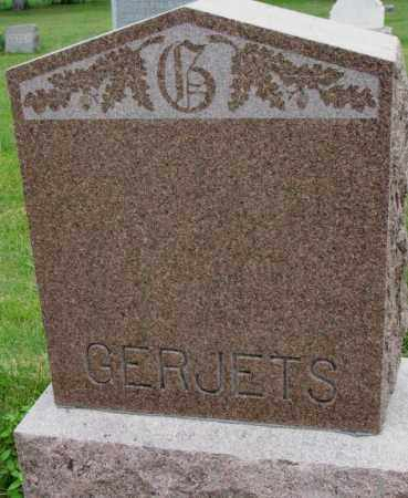 GERJETS, PLOT - Bon Homme County, South Dakota | PLOT GERJETS - South Dakota Gravestone Photos