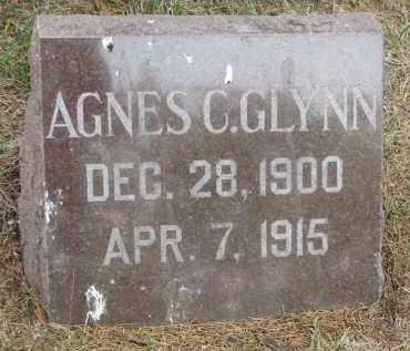 GLYNN, AGNES C. - Bon Homme County, South Dakota | AGNES C. GLYNN - South Dakota Gravestone Photos