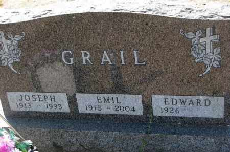 GRAIL, EDWARD - Bon Homme County, South Dakota | EDWARD GRAIL - South Dakota Gravestone Photos
