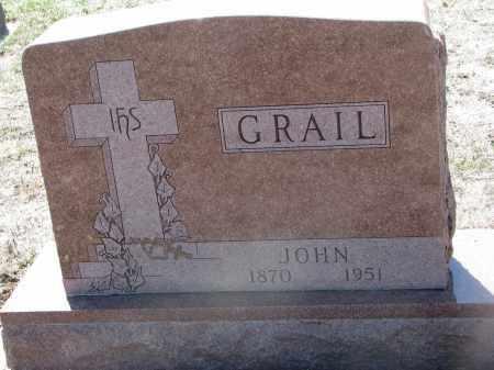GRAIL, JOHN - Bon Homme County, South Dakota | JOHN GRAIL - South Dakota Gravestone Photos