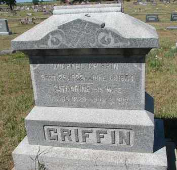 GRIFFIN, CATHARINE - Bon Homme County, South Dakota | CATHARINE GRIFFIN - South Dakota Gravestone Photos