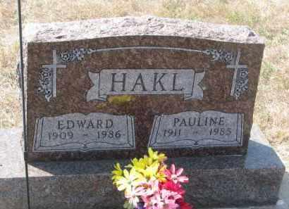 HAKL, PAULINE - Bon Homme County, South Dakota   PAULINE HAKL - South Dakota Gravestone Photos