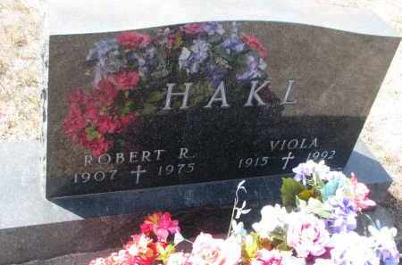 HAKL, VIOLA - Bon Homme County, South Dakota | VIOLA HAKL - South Dakota Gravestone Photos