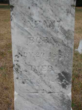 HALEY, INFANT (CLOSEUP) - Bon Homme County, South Dakota | INFANT (CLOSEUP) HALEY - South Dakota Gravestone Photos