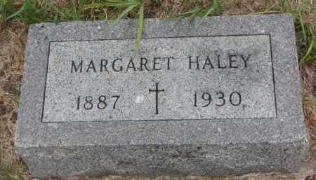 HALEY, MARGARET - Bon Homme County, South Dakota   MARGARET HALEY - South Dakota Gravestone Photos