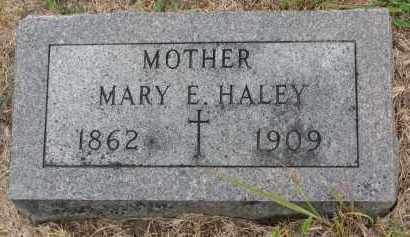 HALEY, MARY E. - Bon Homme County, South Dakota | MARY E. HALEY - South Dakota Gravestone Photos
