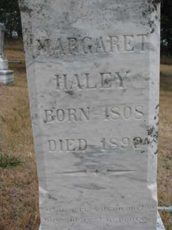 HALEY, MARGARET (CLOSEUP) - Bon Homme County, South Dakota   MARGARET (CLOSEUP) HALEY - South Dakota Gravestone Photos