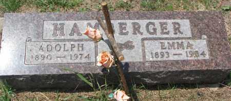 HAMBERGER, ADOLPH - Bon Homme County, South Dakota | ADOLPH HAMBERGER - South Dakota Gravestone Photos