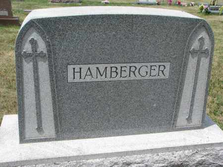 HAMBERGER, FAMILY STONE - Bon Homme County, South Dakota | FAMILY STONE HAMBERGER - South Dakota Gravestone Photos
