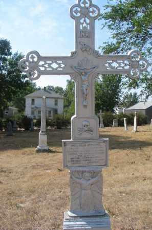 HAMBERGER, JOSEF - Bon Homme County, South Dakota | JOSEF HAMBERGER - South Dakota Gravestone Photos