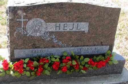 HEJL, EVELYN M. - Bon Homme County, South Dakota   EVELYN M. HEJL - South Dakota Gravestone Photos