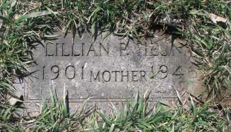 HEJNA, LILLIAN P. - Bon Homme County, South Dakota   LILLIAN P. HEJNA - South Dakota Gravestone Photos