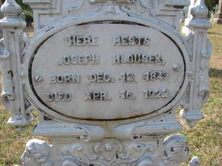 HLOUSEK, JOSEPH (CLOSEUP) - Bon Homme County, South Dakota   JOSEPH (CLOSEUP) HLOUSEK - South Dakota Gravestone Photos