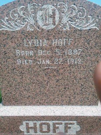 HOFF, LYDIA - Bon Homme County, South Dakota | LYDIA HOFF - South Dakota Gravestone Photos