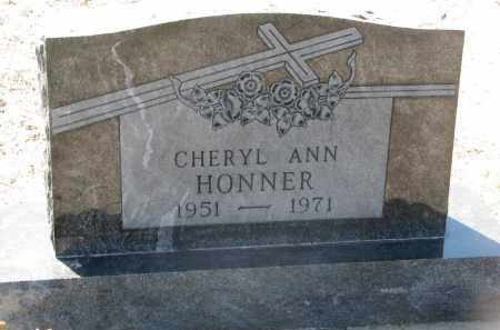 HONNER, CHERYL ANN - Bon Homme County, South Dakota | CHERYL ANN HONNER - South Dakota Gravestone Photos
