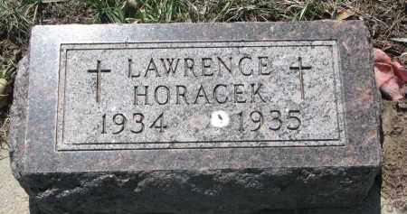 HORACEK, LAWRENCE - Bon Homme County, South Dakota   LAWRENCE HORACEK - South Dakota Gravestone Photos