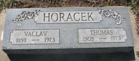HORACEK, THOMAS - Bon Homme County, South Dakota | THOMAS HORACEK - South Dakota Gravestone Photos