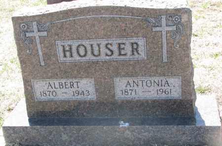 HOUSER, ALBERT - Bon Homme County, South Dakota | ALBERT HOUSER - South Dakota Gravestone Photos