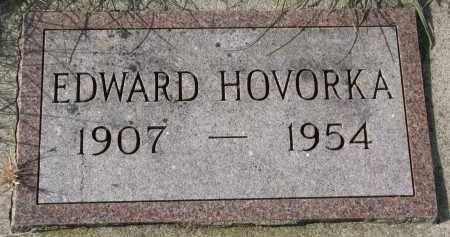 HOVORKA, EDWARD - Bon Homme County, South Dakota | EDWARD HOVORKA - South Dakota Gravestone Photos
