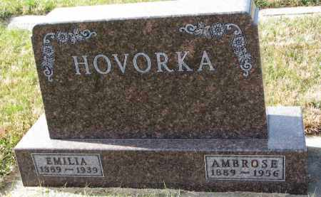 HOVORKA, AMBROSE - Bon Homme County, South Dakota | AMBROSE HOVORKA - South Dakota Gravestone Photos
