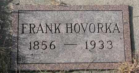 HOVORKA, FRANK - Bon Homme County, South Dakota | FRANK HOVORKA - South Dakota Gravestone Photos