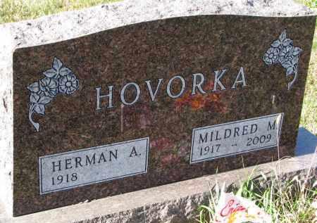 HOVORKA, HERMAN A. - Bon Homme County, South Dakota | HERMAN A. HOVORKA - South Dakota Gravestone Photos