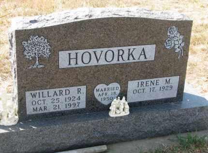 HOVORKA, WILLARD R. - Bon Homme County, South Dakota   WILLARD R. HOVORKA - South Dakota Gravestone Photos