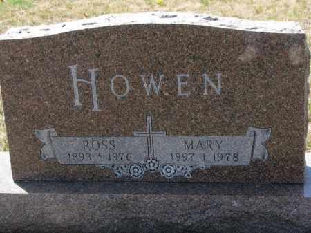 HOWEN, MARY - Bon Homme County, South Dakota | MARY HOWEN - South Dakota Gravestone Photos