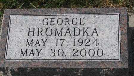 HROMADKA, GEORGE - Bon Homme County, South Dakota | GEORGE HROMADKA - South Dakota Gravestone Photos