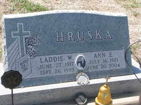 HRUSKA, LADDIE W. - Bon Homme County, South Dakota | LADDIE W. HRUSKA - South Dakota Gravestone Photos