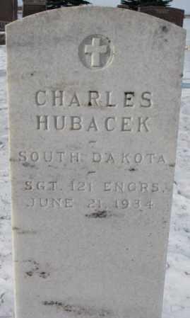 HUBACEK, CHARLES - Bon Homme County, South Dakota | CHARLES HUBACEK - South Dakota Gravestone Photos