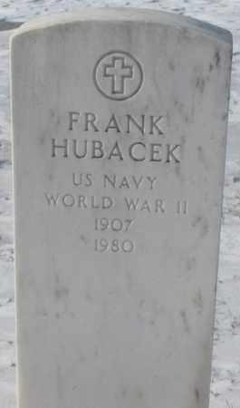 HUBACEK, FRANK - Bon Homme County, South Dakota | FRANK HUBACEK - South Dakota Gravestone Photos
