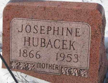 HUBACEK, JOSEPHINE - Bon Homme County, South Dakota | JOSEPHINE HUBACEK - South Dakota Gravestone Photos
