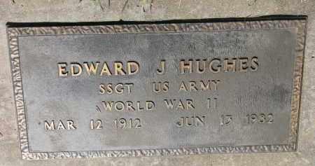 HUGHES, EDWARD J. (WW II) - Bon Homme County, South Dakota | EDWARD J. (WW II) HUGHES - South Dakota Gravestone Photos