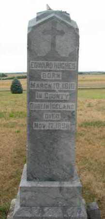 HUGHES, EDWARD - Bon Homme County, South Dakota   EDWARD HUGHES - South Dakota Gravestone Photos