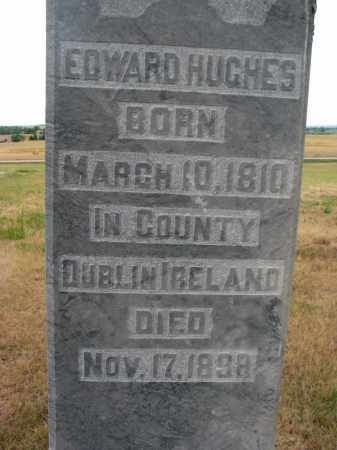 HUGHES, EDWARD (CLOSEUP) - Bon Homme County, South Dakota | EDWARD (CLOSEUP) HUGHES - South Dakota Gravestone Photos