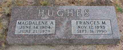 HUGHES, MAGDALENE A. - Bon Homme County, South Dakota | MAGDALENE A. HUGHES - South Dakota Gravestone Photos