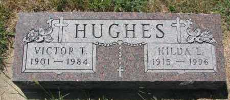HUGHES, VICTOR T. - Bon Homme County, South Dakota | VICTOR T. HUGHES - South Dakota Gravestone Photos