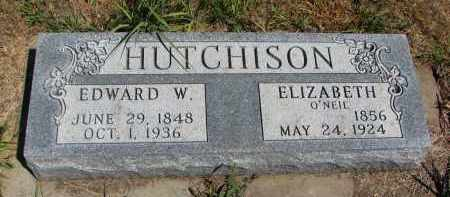 HUTCHINSON, ELIZABETH - Bon Homme County, South Dakota | ELIZABETH HUTCHINSON - South Dakota Gravestone Photos