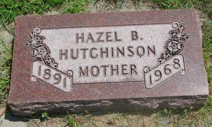 HUTCHINSON, HAZEL B. - Bon Homme County, South Dakota | HAZEL B. HUTCHINSON - South Dakota Gravestone Photos