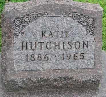 HUTCHINSON, KATIE - Bon Homme County, South Dakota   KATIE HUTCHINSON - South Dakota Gravestone Photos