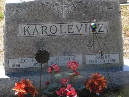 KAROLEWICZ, LORRAINE - Bon Homme County, South Dakota   LORRAINE KAROLEWICZ - South Dakota Gravestone Photos