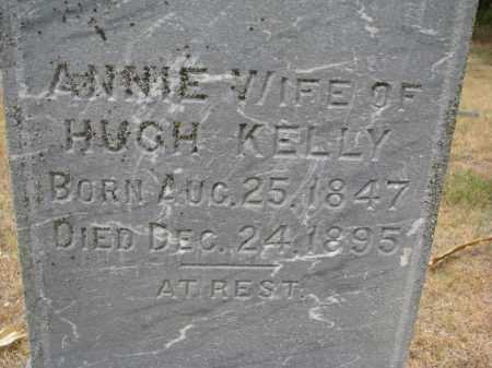 KELLY, ANNIE (CLOSEUP) - Bon Homme County, South Dakota | ANNIE (CLOSEUP) KELLY - South Dakota Gravestone Photos