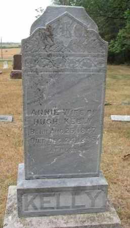 KELLY, ANNIE - Bon Homme County, South Dakota | ANNIE KELLY - South Dakota Gravestone Photos