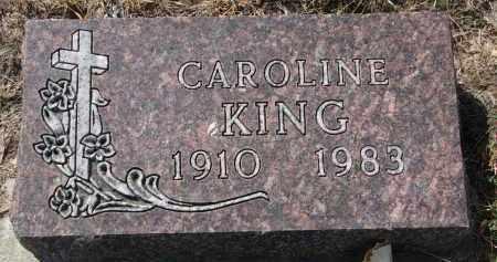 KING, CAROLINE - Bon Homme County, South Dakota | CAROLINE KING - South Dakota Gravestone Photos