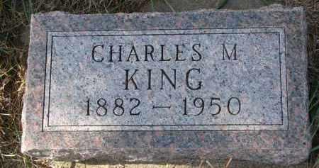 KING, CHARLES M. - Bon Homme County, South Dakota   CHARLES M. KING - South Dakota Gravestone Photos