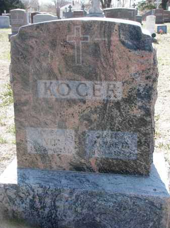 KOCER, VIT - Bon Homme County, South Dakota | VIT KOCER - South Dakota Gravestone Photos